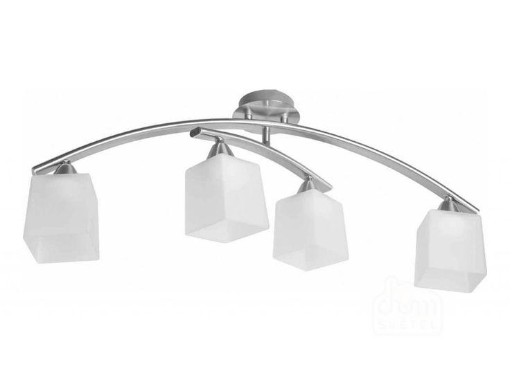 stropní svítidlo Prezent Rapo 648; 4*E27/40W; Krytí: IP20; chrom mat