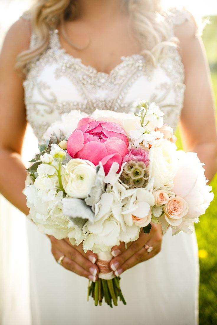 Bridal Bouquet: By Jennifer Joyce Design  View More: http://janelleelisephotography.pass.us/chantel-justin