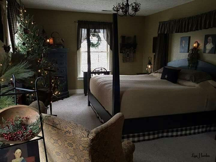 145 Best Primitive/Colonial Bedrooms Images On Pinterest