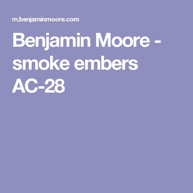 Benjamin Moore - smoke embers AC-28