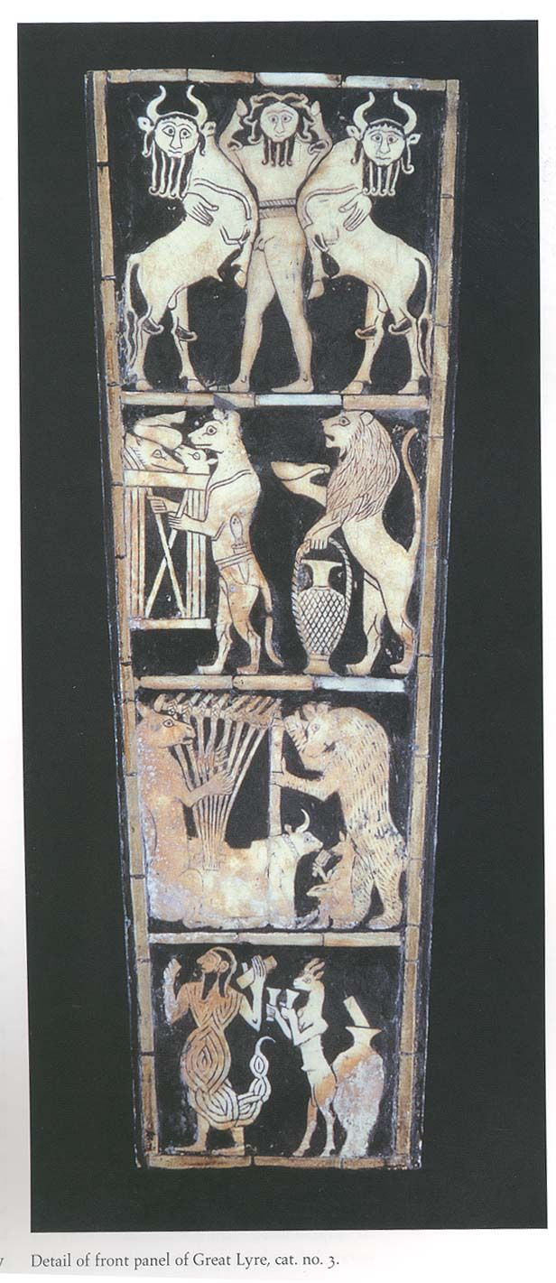 Ancient Middle East Map Mesopotamia%0A Detail from the   Great Lyre   from Ur  Ancient Near EastAncient  MesopotamiaAncient