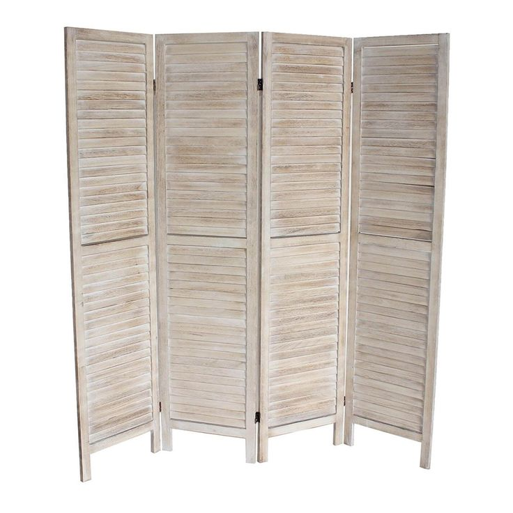 Traditional Style And Uniquely Flexible 4 Panel Room Divider Design 14