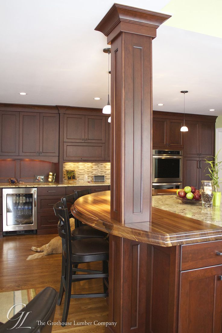 Charming Walnut Countertop Design By Auer Kitchens In Ohio Https://www.glumber.  Walnut CountertopWood ...
