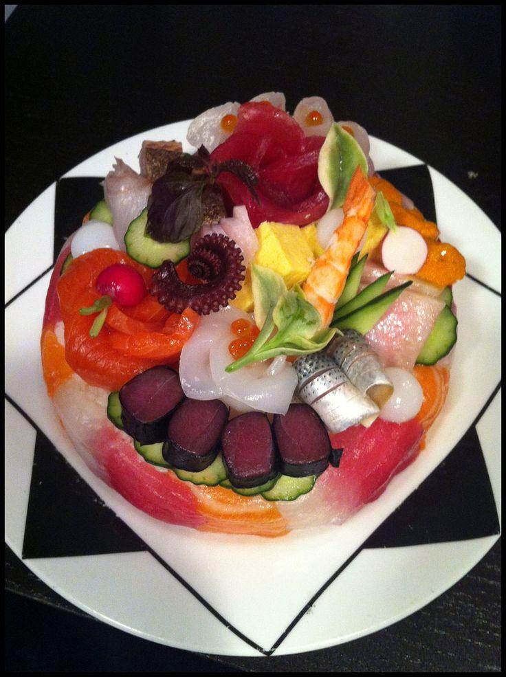 Best 25 sushi cake ideas on pinterest sushi cupcakes for Sushi grade fish near me