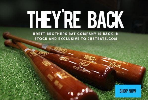 George Brett's baseball bat company, Brett Bros Bats, is back! Check out the largest selection online exclusively at JustBats. We offer free shipping every day with 24/7 customer service!