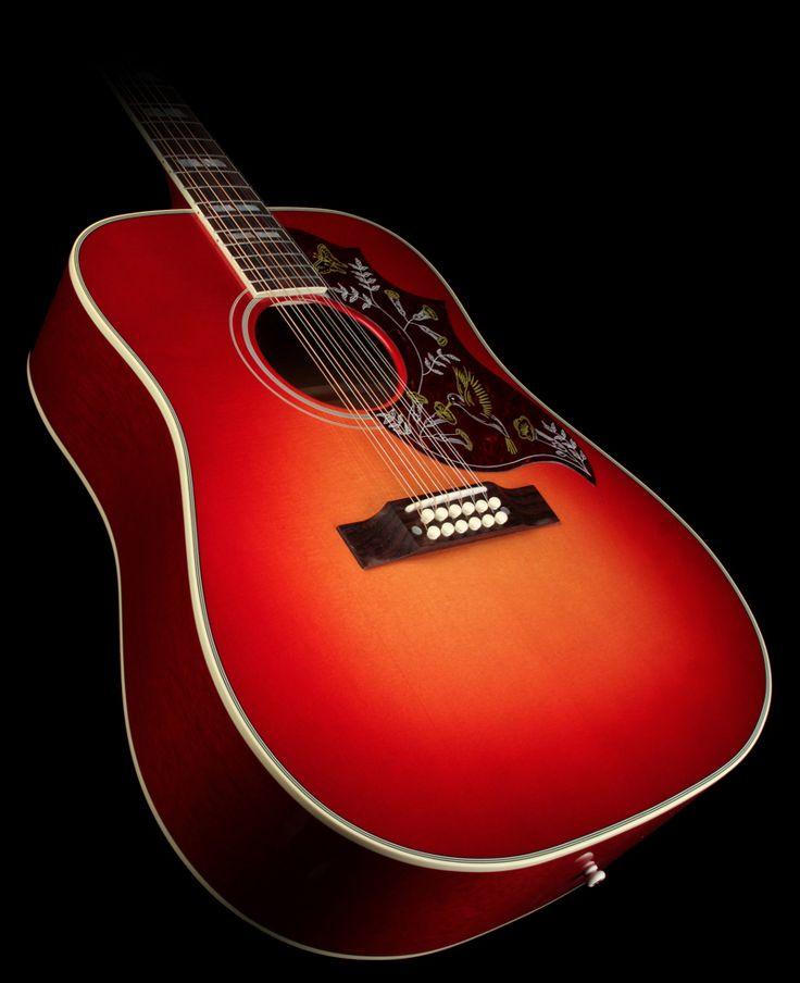 Jodie Marie Jennings' prized Gibson Hummingbird 12-String Acoustic Guitar Vintage Cherry Sunburst