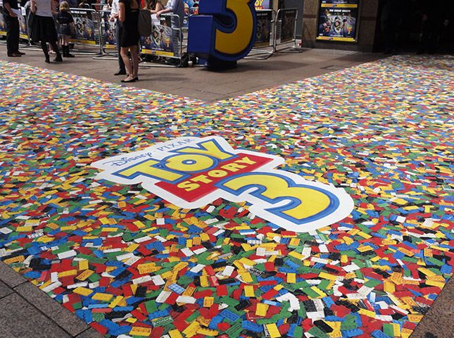 Toy Story Carpet! This is made using digital printing ...