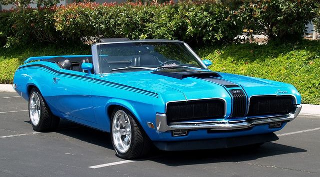 1970 Mercury Cougar Eliminator Convertible. Awesome American Musclecar!