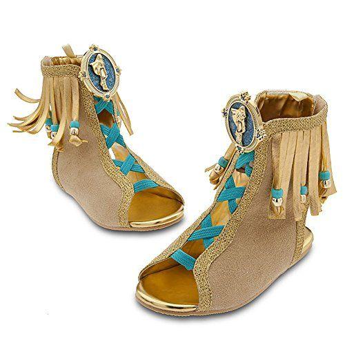 Disney Store Princess Pocahontas Halloween Costume Shoes/Sandals: Size 2/3 @ niftywarehouse.com