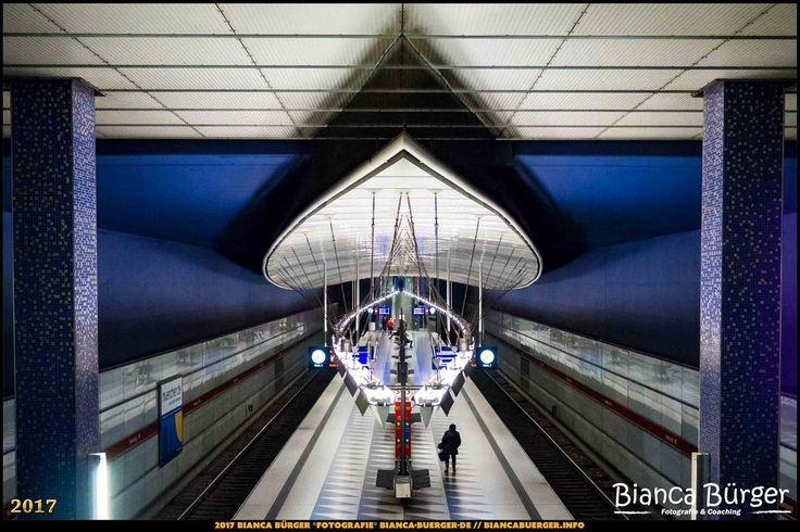 """U-Bahn-Station """"Hasenbergl"""" - München-Spezial #München #Munich #Bayern #Bavaria #Deutschland #Germany #subway #underground #station #igersgermany #IG_Deutschland #underground_enthusiasts #biancabuergerphotography #metro #shootcamp #pickmotion"""
