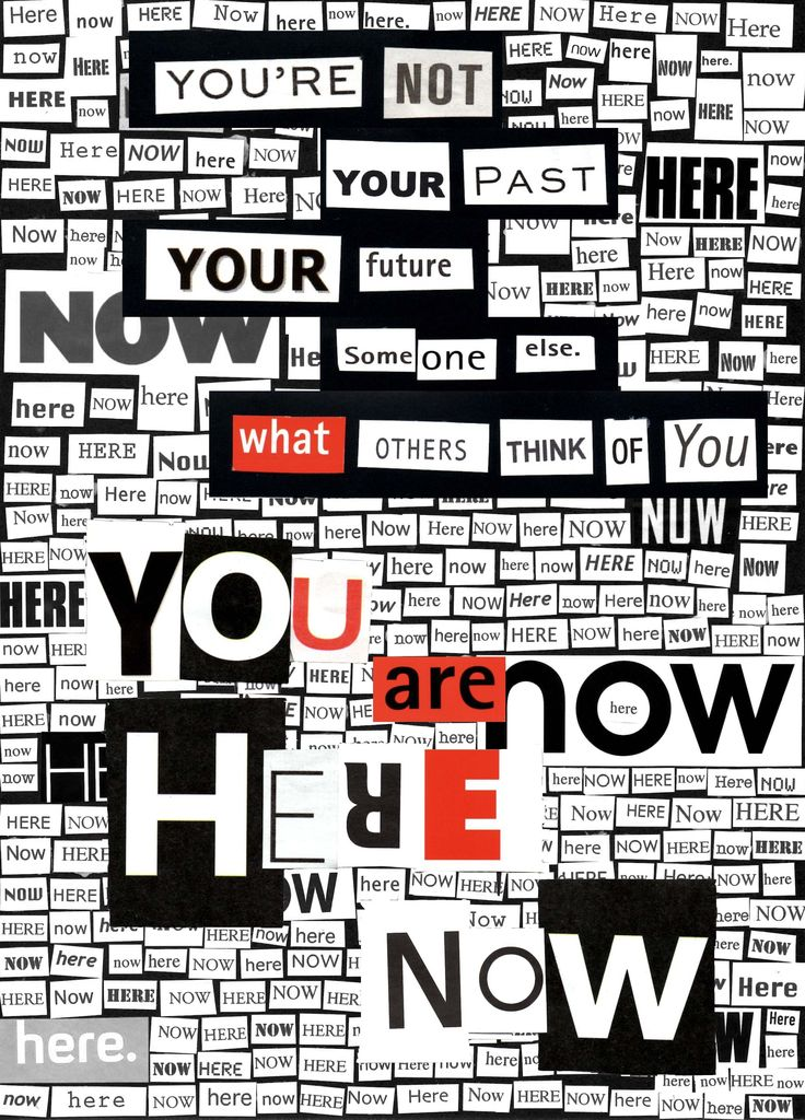 Here Now Collage 2013
