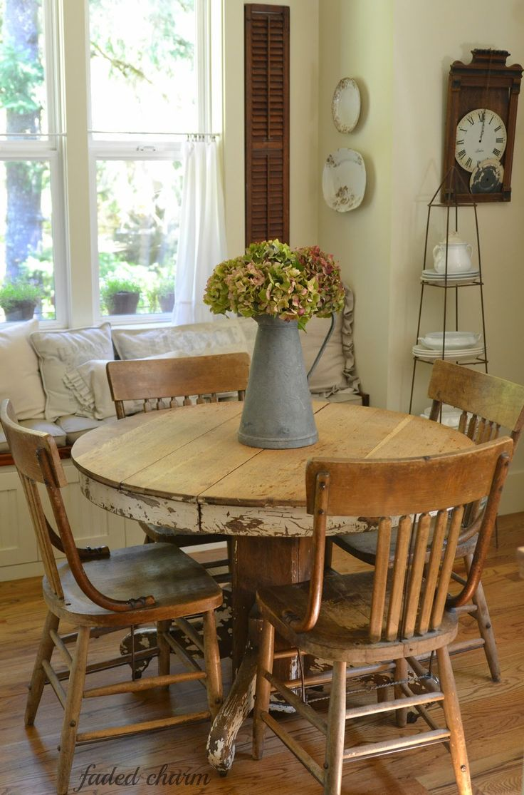 best 25+ farmhouse kitchen table sets ideas on pinterest | painted