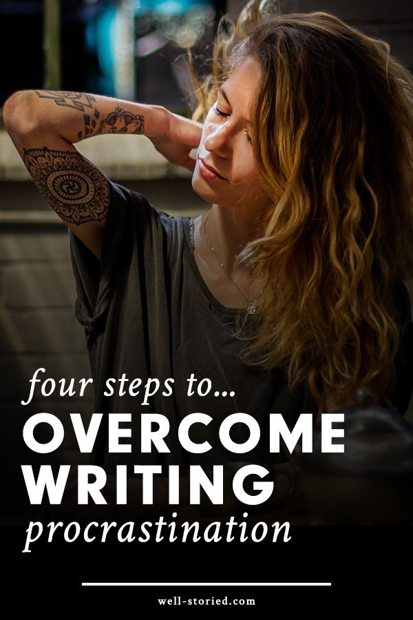 Are you struggling to get your butt in the chair and your hands on the keys? No worries. That's totally normal! Writing is hard work, but you're tougher. In this article, I'm going to break down four steps you can take to overcome procrastination anytime your motivations begins to wane. Let's go!