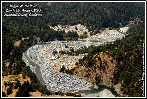 Reggae on the River, Humboldt County - wish it would go back to how it used to be! The good ol dayyyys.....