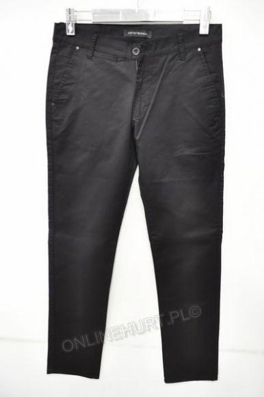 Spodnie Męskie Wizytowe Artista 343  _E1 (30-38) czarny