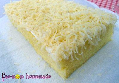 Brownies Kukus Keju Lembut a la Fae-mom