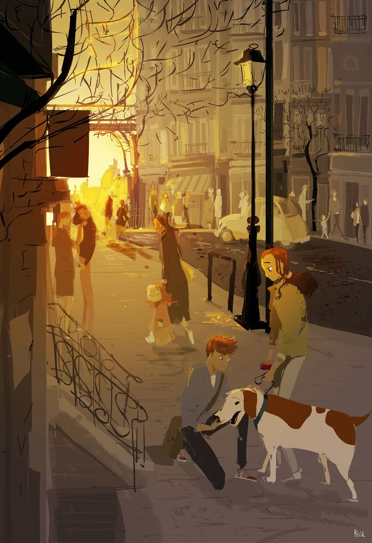 A LITTLE AFTER SUMMER by Pascal Campion | ⌨ARTWORK ...