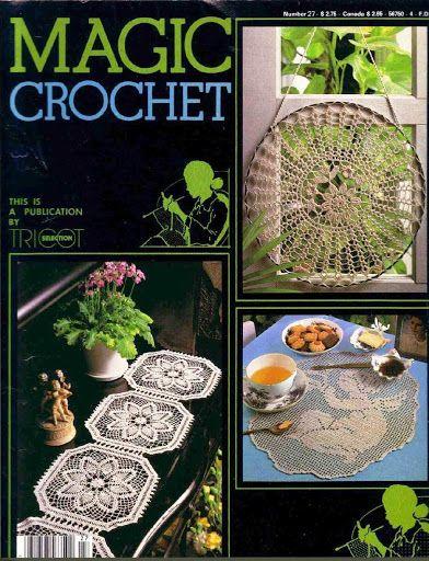 MAGIC CROCHET 27 - Mirtha Aracely Izaguirre - Picasa Web Albums...FREE MAGAZINE!