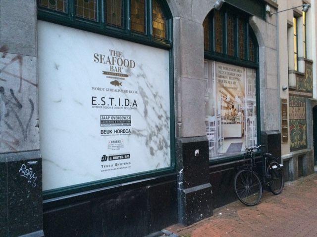 17 beste afbeeldingen over estida clients hospitality op for Seafood bar van baerlestraat amsterdam