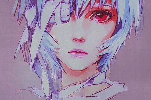 Rei from the landmark Japanese story Neon Genesis Evangelion: The cruelty of an older adult's burden.