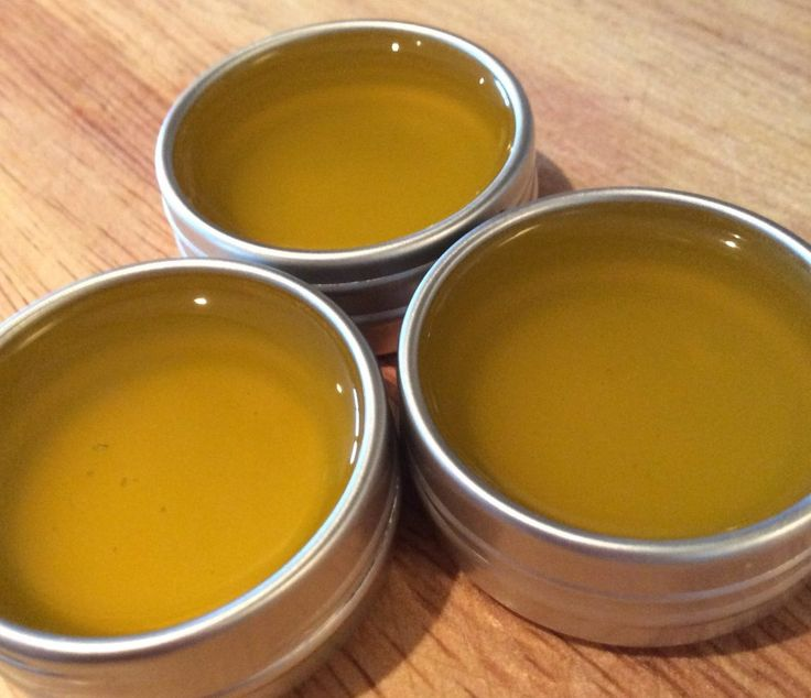 All Natural Homemade lip Balms
