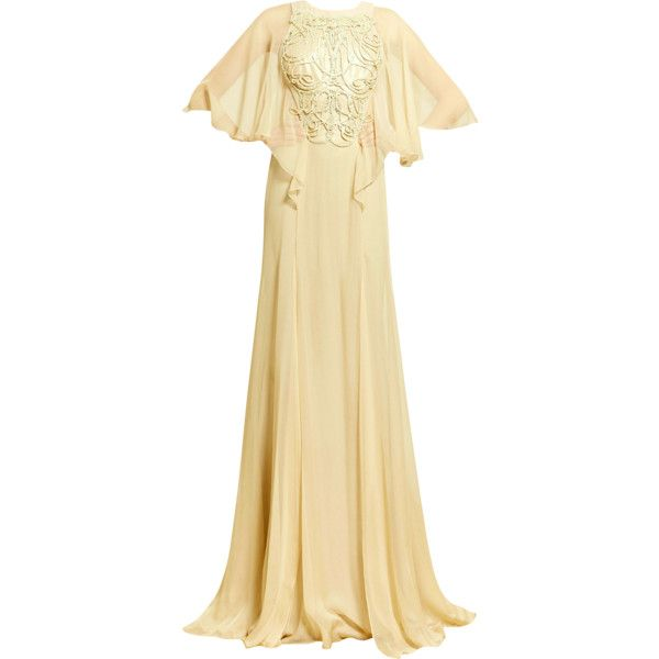 Zuhair Murad - edited by mlleemilee ❤ liked on Polyvore featuring dresses, gowns, long dresses, edited, satinee, zuhair murad evening gowns, zuhair murad evening dresses, beige long dress and zuhair murad gowns