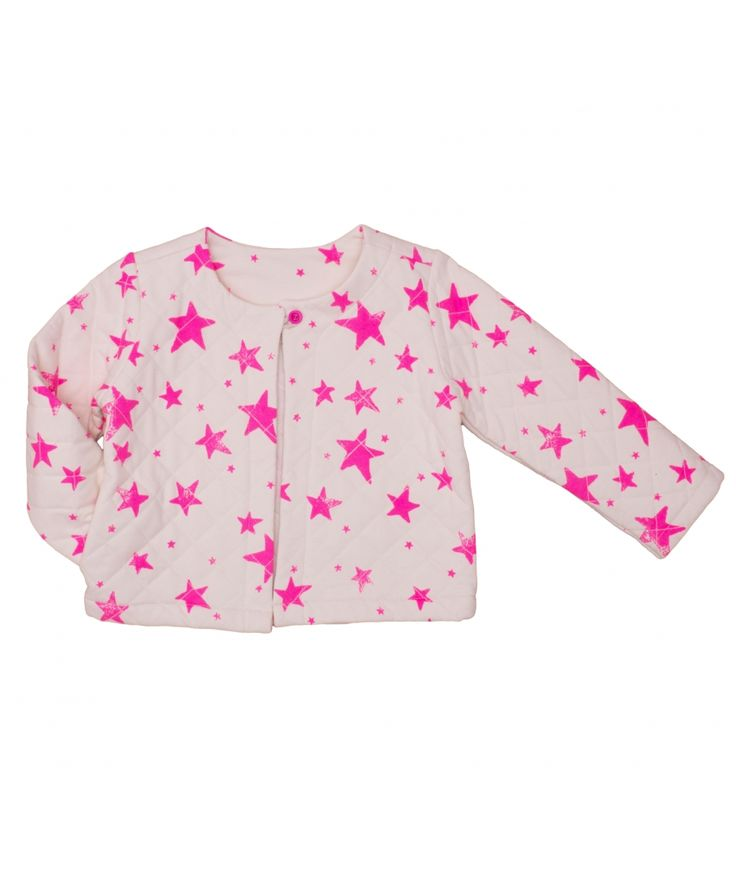 Skirt Stars white neon pink