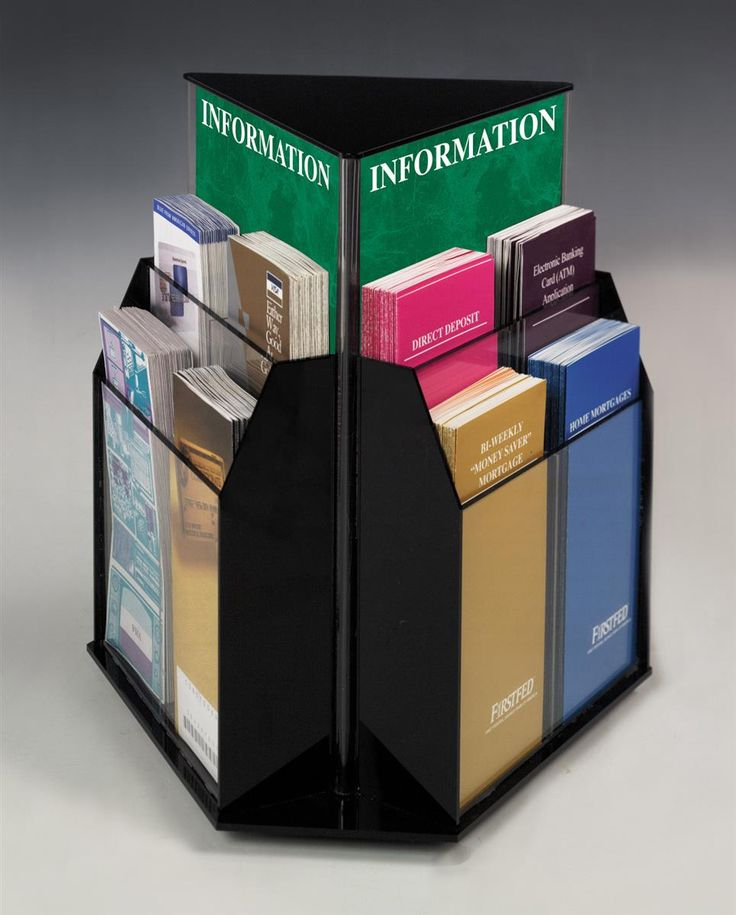 1000 Ideas About Brochure Holders On Pinterest Magazine
