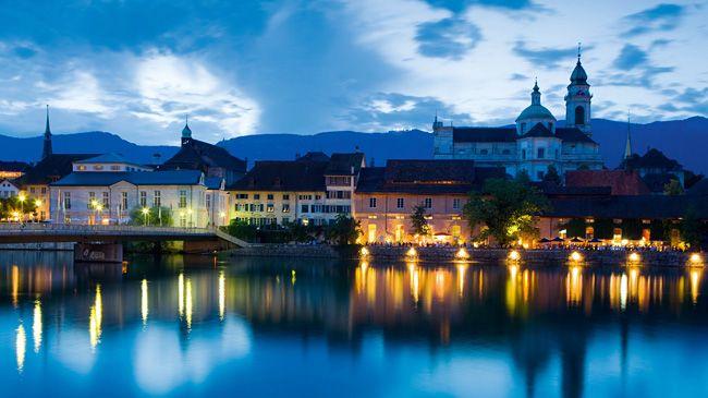 Solothurn - Switzerland's Baroque city.