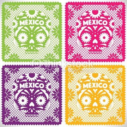 da-de-muertos-set-papel-picado-vector-id488431000 (415×416)