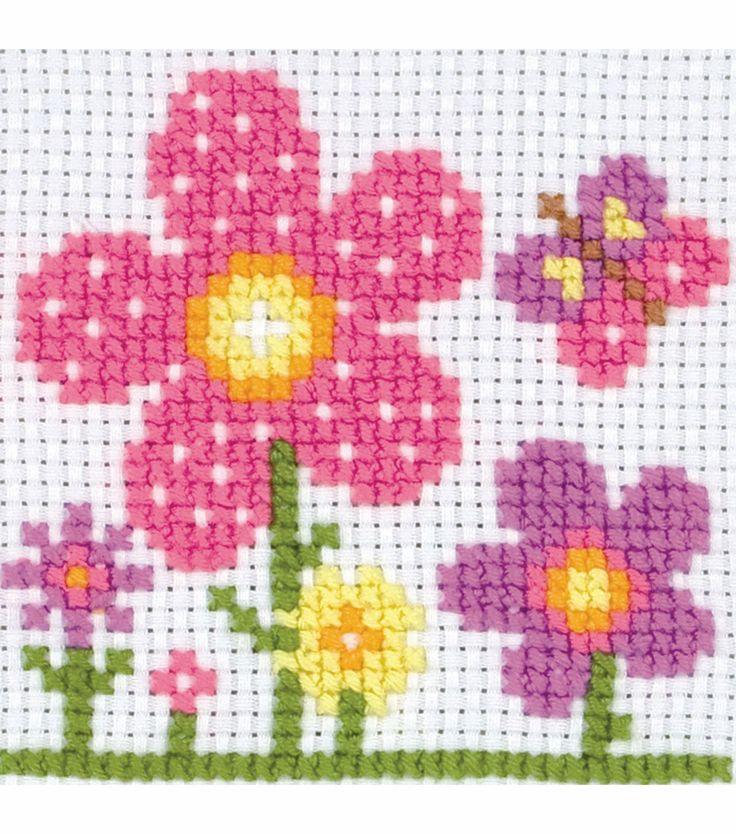 Maia Childrens Counted Cross Stitch Kit Sarah