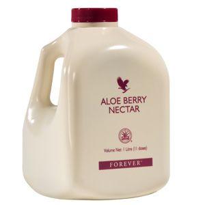 Au goût délicieusement acidulé, l'Aloe Berry Nectar contient de l'extrait de canneberge et renferme de nombreux minéraux tels que le potassium, le phosphore, le sodium mais aussi de la vitamine C, bénéfiques à un bien-être physique.  Composants principaux : 90,3% de pulpe d'Aloe Vera stabilisée; 1,77% d'extraits de canneberge et de pomme.  Conseils d'utilisation : 30 ml, 3 fois par jour, soit 90 ml. Secouer légèrement avant de servir.