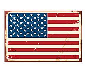 Alfombra vinílica bandera de EE.UU