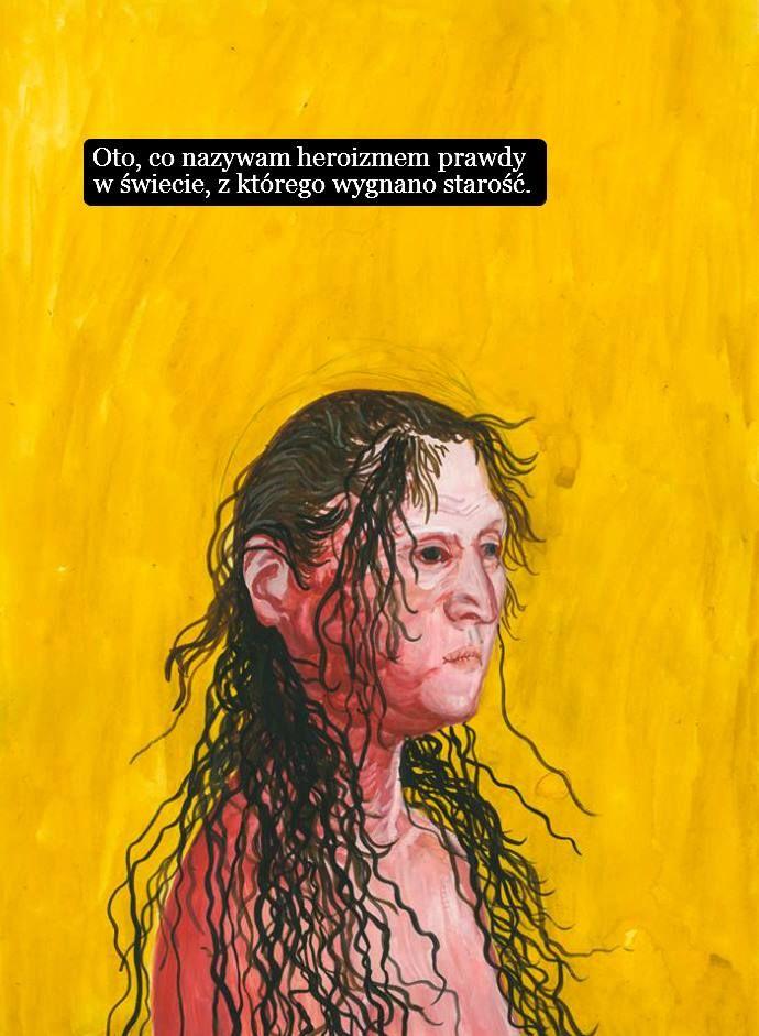 Interpretacja dzieła przez Sztuczne Fiołki:)  Aleksandra Waliszewska (ur.1976) Artystka sztuk wizualnych, autorka obrazów, gwaszy, rysunków, grafik i ilustracji.
