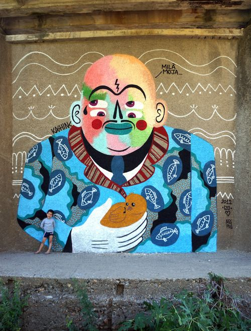 Global Street Art • Breaking Moulds: An Interview with Kashink from Paris