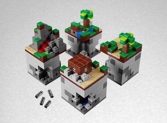 J!NX : LEGO Minecraft Micro World