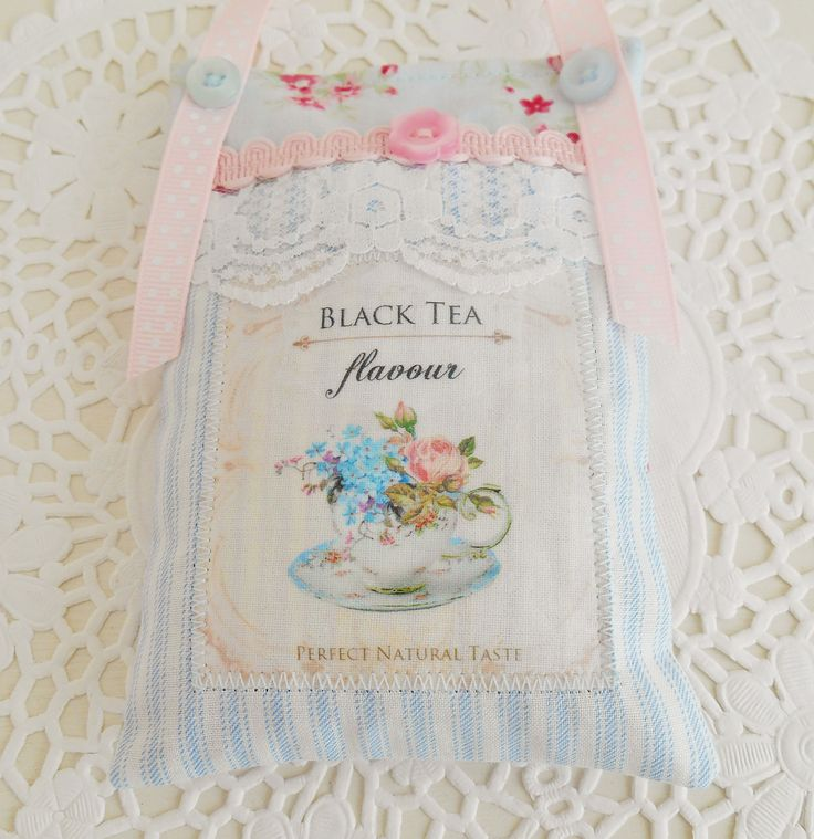 Shabby & Chic Style Lavender Sachet/Home Decor by picocrafts on Etsy
