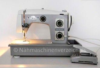 Victoria 8014-26, Flachbett mit Anbaumotor o. Fußantrieb Hersteller: VEB Nähmaschinen Werk Wittenberge (Bilder: Nähmaschinenverzeichnis)