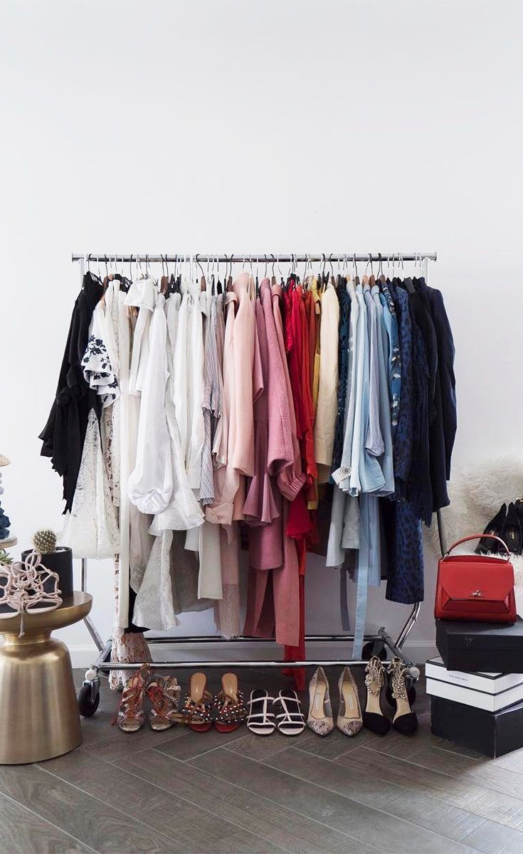 Home Accessories Luxury Dream Closets A Fashion Girl S Case For A Cluttered Closet Luxury Outfits Wardrobe Fashion