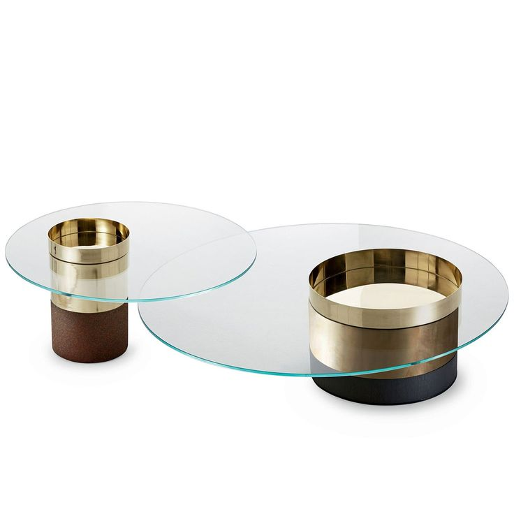 Haumea Glass And Metal Coffee Table By Gallotti U0026 Radice   Klarity