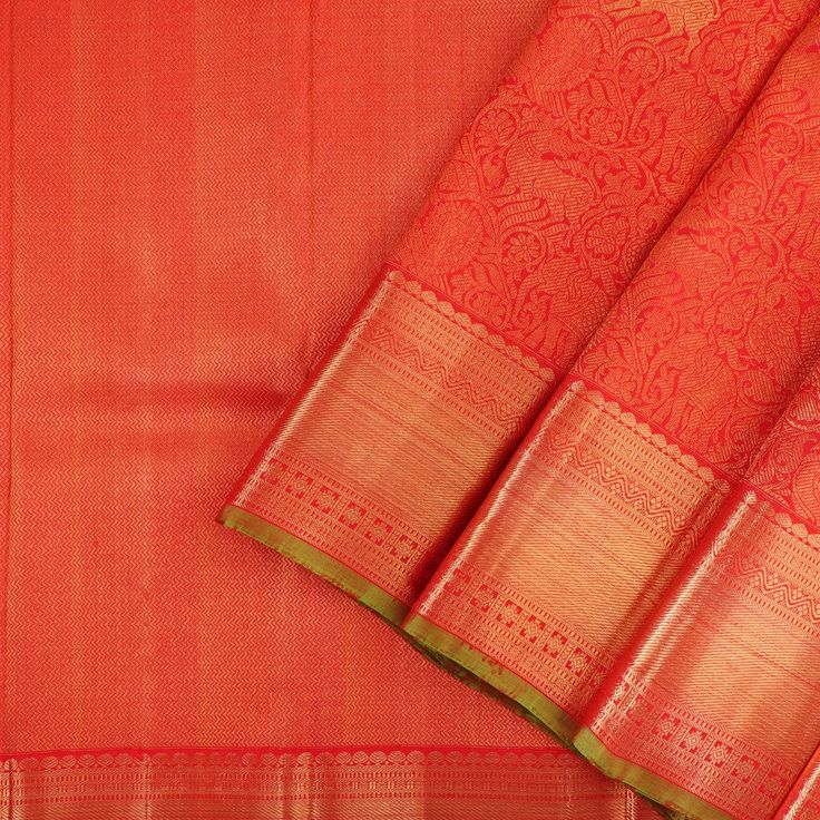 Kanakavalli Kanjivaram Silk Sari 024-01-16393 - Cover View