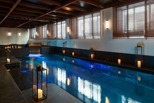 La piscine du Roch Hôtel & Spa Paris http://www.s2hcommunication.com/en/node/1003