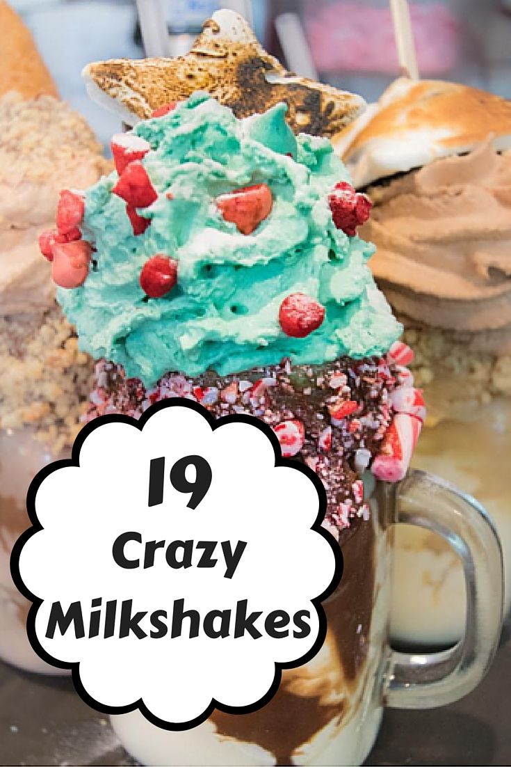 2016's latest foodie trend: the crazy, over-the-top milkshake. Not only are they…