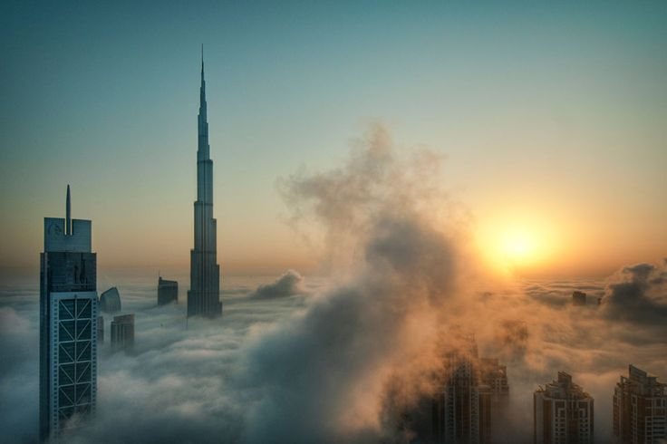 Burj dubai: Photos, Building, Favorite Places, National Geographic Photo, Cities, Dubai, Cloud, Burj Khalifa, Photography