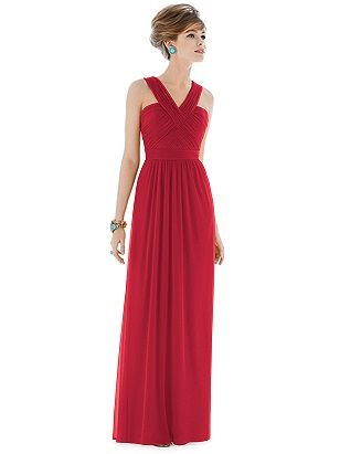 joanna gown #red  http://www.bellebridesmaid.com.au/product/joanna/