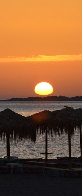 Sunset in Paleochora, Crete