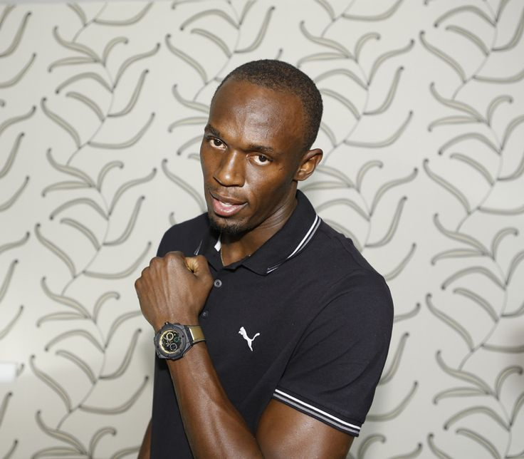 "Usain Bolt a désormais sa montre, la ""King Power Usain Bolt"" de chez Hublot"