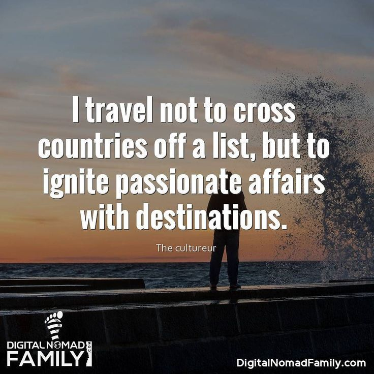 I travel not to cross countries off a list but to ignite passionate affairs with destinations.  #travel #travelgram #instatravel #traveling #travelling #travelphotography #traveler #travelingram #igtravel #traveller #mytravelgram #instatraveling #traveltheworld #travelblogger #travelblog #travels #traveldiaries #traveladdict #natgeotravel  #motivation #motivationalquotes #quotes #lifequotes