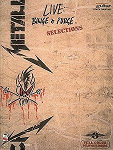 Metallica - Live: Binge and Purge* (Play It Like It Is) book by Metallica