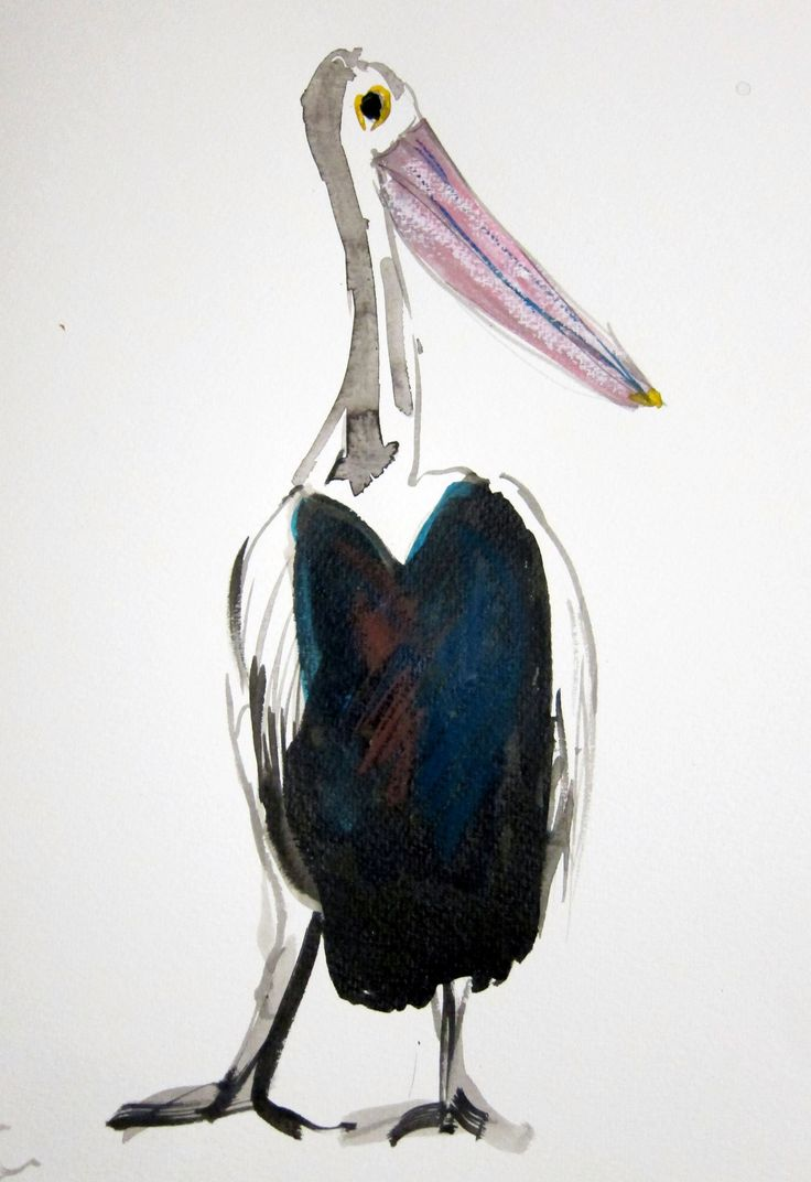 Pelican Pat - limited Edition print A4 size $100 Contact me to buy
